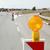 autópálya · út · újjáépítés · jelzőlámpa · jelzőtáblák · kék · ég - stock fotó © simazoran