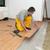 parketta · szoba · felnőtt · férfi · munkás · installál - stock fotó © simazoran