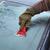sürücü · temizlik · ön · cam · araba · kar - stok fotoğraf © simazoran