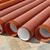 Construction site, heap of PVC tubes stock photo © simazoran