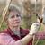landbouw · boomgaard · volwassen · vrouw · werken · vrouwelijke - stockfoto © simazoran
