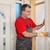 işçi · alçıtaşı · tahta · sıva - stok fotoğraf © simazoran