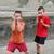 iki · kişi · boks · yalıtılmış · beyaz · erkekler · şiddet - stok fotoğraf © simazoran