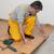 madera · dura · azulejo · piso · residencial · casa · cocina - foto stock © simazoran