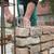 construcción · manos · pared · ladrillos · casa · trabajo - foto stock © simazoran