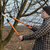 agriculture pruning in orchard adult man working stock photo © simazoran