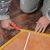 otthon · rendbehoz · munkás · csempe · csempék · padló - stock fotó © simazoran
