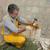 homme · marteau · ciseler · construction · banc · commencer - photo stock © simazoran