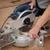 laminate flooring of room batten cuting stock photo © simazoran