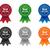 vecteur · best-seller · badge · détaillée · icône · tissu - photo stock © simo988