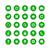 web · simgeleri · yeşil · kırmızı · düğmeler · beyaz - stok fotoğraf © simo988