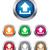 синий · круга · форма · интернет · кнопки · вверх - Сток-фото © simo988
