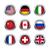 Мир · флагами · набор · 26 · Великобритания · Соединенные · Штаты - Сток-фото © simo988