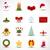Noel · çelenk · yay · yılbaşı - stok fotoğraf © simo988