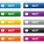 серебро · веб · Кнопки · два · цвета - Сток-фото © simo988