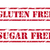 Gluten free and sugar free rubber stamps stock photo © simo988