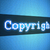 copyright word on lcd styled display stock photo © simpson33