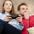 coppia · tempo · libero · giocare · videogiochi · videogioco · Coppia - foto d'archivio © simpson33