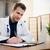 médecin · gynécologue · travail · bureau · ultrasons · travail · de · bureau - photo stock © simpson33