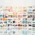 multimediali · monitor · muro · ampia · schermo · colorato - foto d'archivio © simpson33
