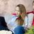 Couple enjoys free time watching TV stock photo © simpson33