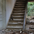 old wooden staircase and dirty floor stock photo © sirylok