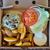 cheeseburger · frytki · sos · odizolowany · zielone · kurczaka - zdjęcia stock © sirylok