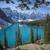 морена · озеро · Канада · парка · воды · пейзаж - Сток-фото © skylight