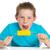 boy eating corn on cob stock photo © slp_london