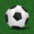 voetbal · ontwerp · voetbal · zomer · zwarte · leder - stockfoto © smarques27