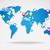 dünya · haritası · bilgisayar · dünya · sanat · eğitim · okyanus - stok fotoğraf © smarques27
