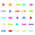 colorful vector arrows stock photo © smarques27