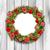 naturale · Natale · ghirlanda · frame · luminoso · verde - foto d'archivio © smeagorl