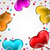 collection glossy hearts balloons for valentine day stock photo © smeagorl