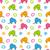 Cartoon · elefantes · diseno · fondo · wallpaper - foto stock © smeagorl