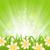 verde · grama · verde · céu · flor · grama · sol - foto stock © smeagorl