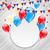 Rood · ballon · Amerikaanse · vlag · witte · kinderen - stockfoto © smeagorl