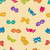 colorful carnival masks seamless pattern stock photo © smeagorl