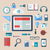 アイコン · トレンディー · 日常 · オブジェクト · 事務用品 · 実例 - ストックフォト © smeagorl