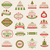 colección · Navidad · adornos · decorativo · elementos - foto stock © smeagorl
