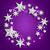 argento · stelle · banner · tutti · elementi - foto d'archivio © smeagorl