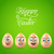 humor easter card with funny eggs stock photo © smeagorl