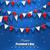 zászlók · hazafias · színek · USA · boldog · illusztráció - stock fotó © smeagorl