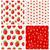 свежие · клубника · фрукты · шаблон · розовый · красный - Сток-фото © smeagorl