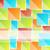 résumé · carré · mosaïque · vecteur · cadre · espace · de · copie - photo stock © smeagorl