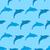 seamless pattern with dolphin marine mammal animal stock photo © smeagorl