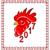китайский · зодиак · знак · петух · стиль - Сток-фото © smeagorl