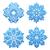 hópelyhek · ikon · gyűjtemény · terv · hó · jég · csillag - stock fotó © smeagorl
