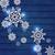 christmas · ingesteld · meetkundig · illustratie · frame - stockfoto © smeagorl