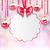 natal · rosa · vítreo · arco · fita - foto stock © smeagorl